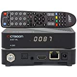OCTAGON SX87 HD WL H.265 S2+IP HEVC Set-Top Box Lector de tarjetas, reproductor multimedia, DLNA, YouTube, radio web, USB PVR, 150 Mbits WiFi + cable HDMI