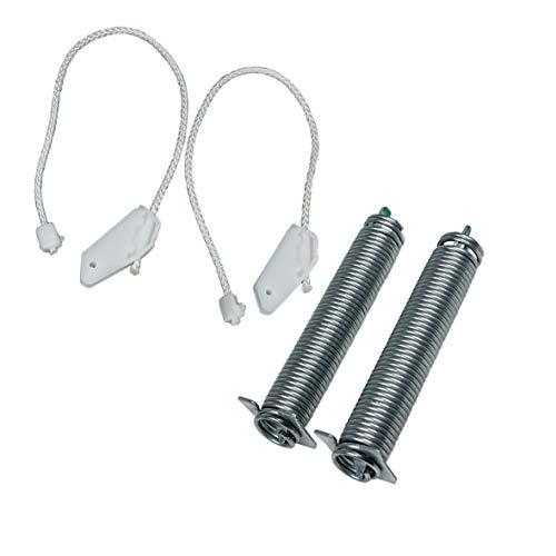 Kit de muelles + cables Kit de reparación de bisagras (303014-59558) Lavavajillas 00754870, 00659340 Siemens