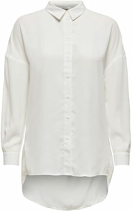 Only Onltamara L/S Loose Shirt Wvn Camicia da Donna