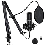 Podcast Microphone 192KHZ/24BIT MAONO PM420 USB Condenser Cardioid PC Mic with Professional Sound