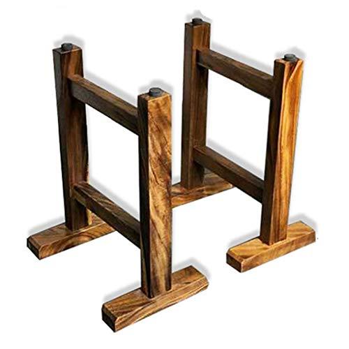 YXB Solid tafelpoten, eenvoudig te installeren tafelpoten, bankpoten - antieke stijl vierkante buis tafelpoten - voor koffie en koffie tafels, stoelen, home DIY projecten (2)