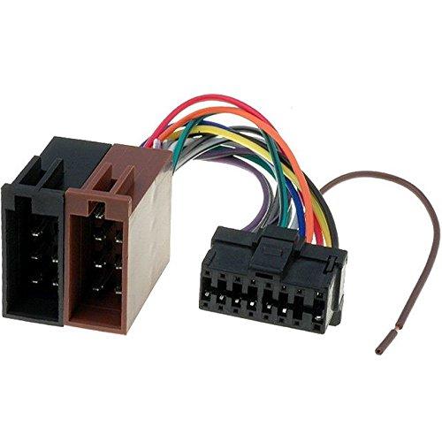 Sound-way Cavo Adattatore Connettore ISO compatibile con Autoradio PIONEER 16 pin