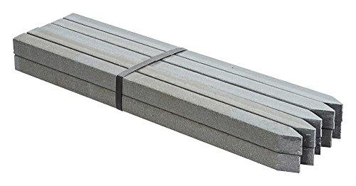 OASE 57754 PondEdge 10 Erdspieße XL | Teichrandsystem | Beeteinfassung | Kapillarsperre |