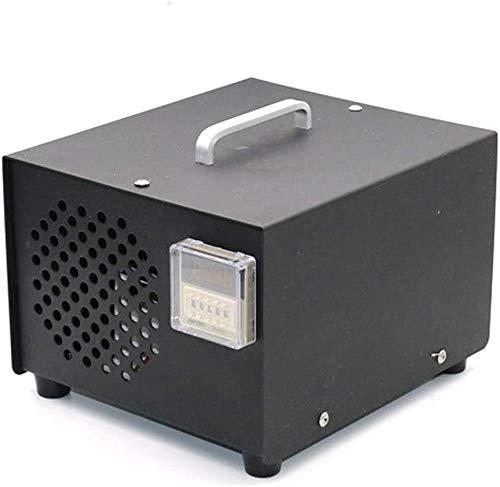 Raxinbang Purificador de Aire Ozono Generador Industrial, O3 Portátil Purificador De Aire De 5,000 MG/H Ozono Máquina con Temporizador Desodorante Y Esterilizador For El Hogar, Habitaciones, H