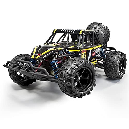 UimimiU RC COCE Off-Road Vehicle Vehículo Coche Control Remoto Coche para Niños 4WD 2.4 GHz 1:18 Escala Coche de Carreras de Alta Velocidad con 2 Faros Off Road RC Trucks Toy Cars Gifts