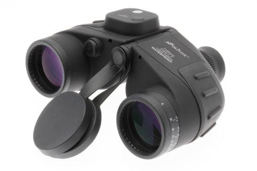 Olivon 7x50 DL Binoculars Waterproof + Compass Black Strap [Ol 335477 ]