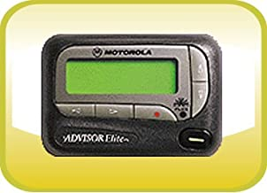 Motorola Advisor Elite Alphanumeric Pager with 12 Month Directpage Service Plan Included