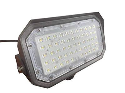 LED 50 Watt Adjustable Flood Wall Pack - 6725 Lumens