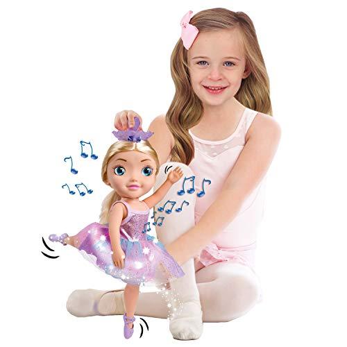 Bandai - Ballerina Dreamer-Große Tänzerin, 45 cm, Musik-Ballerine-Puppe mit Tanz, Tanz, HUN8731
