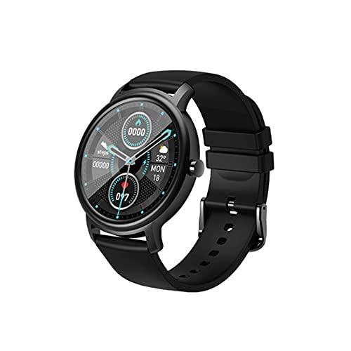 ZBY 24 Horas Biológica Monitor de Ritmo cardíaco Smart Watch Reloj de Hombre 12 Modo Deportivo Dial Personalizado Bluetooth 5 Smartwatch,A