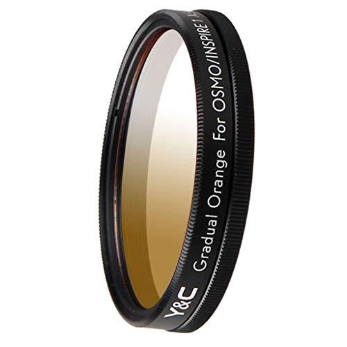 B Blesiya 43 Mm Filter mit Abgestufter Neutraler Dichte für DJI OSMO / Inspire1 X3 Kamera - Orange