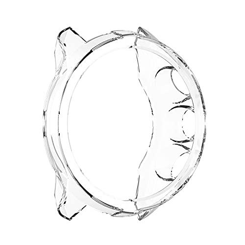 XUEMEI Soft TPU Custodia in TPU Protezione Durevole Shell Protector Elegante Orologio Elemento Confortevole per Suunto 9 Spartan Sport Polso HR Baro (Color : White)