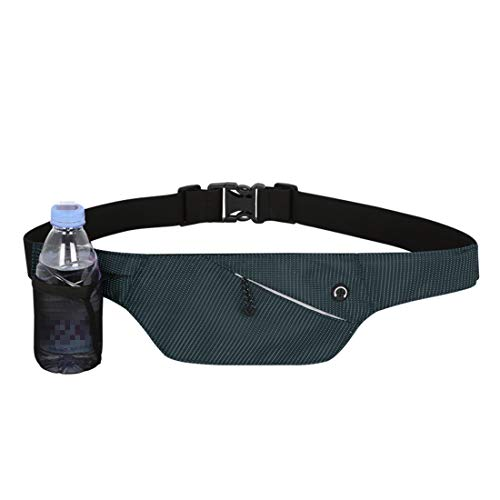 Tcaijing taille tas, taille zak ademende fietsen Bum Bag waterdichte taille Bum tas met koptelefoon gat fietsen sporttas (geen waterfles)