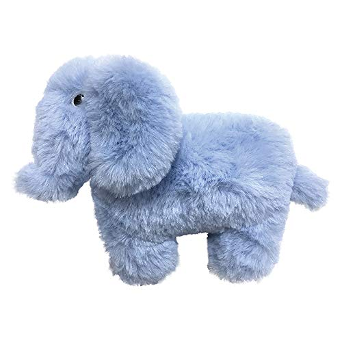 FouFou Dog 87025 Pastel Pals Fuzzy Tuffies Toy Large - Elephant hondenspeelgoed