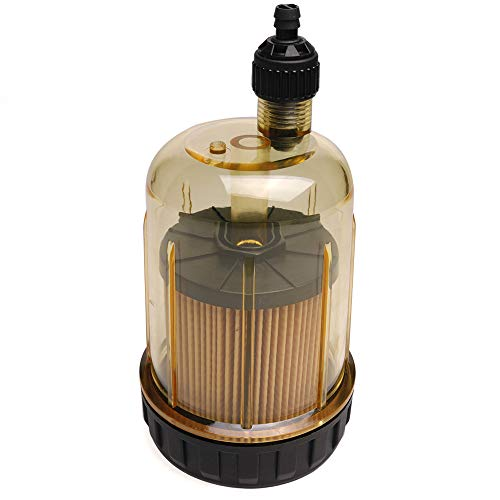 S3213 Fuel Water Separating Filter 35-60494-1 for Outboard Motor 10 Micron Filter with 3/8 Inch NPT Port 802893Q01 Marine 35-809097 S3213 S3214 B32013 18-7932-1 18-7928-1(Without Housing Header)