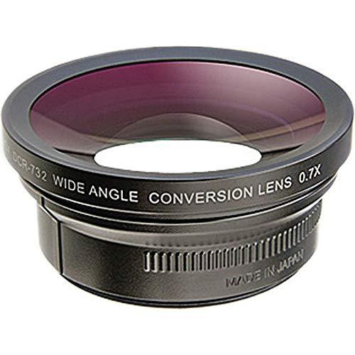 Raynox DCR 732 Wideangle Conversion Lens für 37mm/43mm/46mm Filter (0,7-Fach)