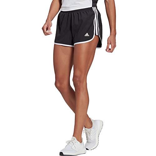 adidas M20 Short, Pantalones Cortos Mujer, Black/White, M 4