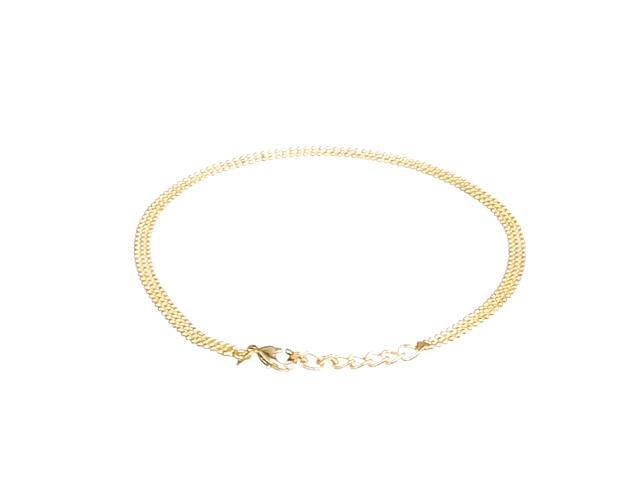 LovelyJewelry Simple 925 Sterling Silver Ankle Anklet Bracelet For Girlfriend LovelyJewelry/_MH/_BR/_XGSS34