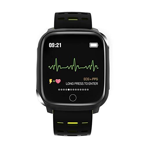 Último hombre F16 Deportes Salud Pulsera inteligente Monitor de Ritmo Cardíaco Impermeable Pulsera Deportiva al Aire Libre Fitness Pulsera (Color: 01)