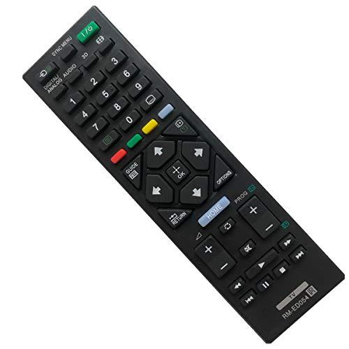 EAESE Telecomando TV per Sony RM‑ED054 TV KDL-32R421A KDL-32R423A KDL-32R424A KDL-46R473A KDL-40R470A KDL-40R471A KDL-40R473A KDL-40R474A KDL-46R470A KDL-32R420A Smart 4K UHD TV
