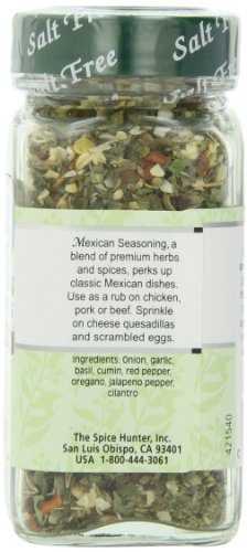 The Spice Hunter Mexican Seasoning Blend, Salt Free, 1.5-Ounce Jar