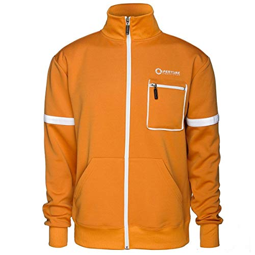 Portal Aperture Test Subject Adult Track Jacket Large
