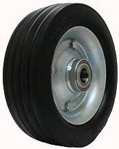 """massief rubber wiel 250x75mm 10 """"x 3"""" 320kg dek wielen trolley gras zorg 25mm"""
