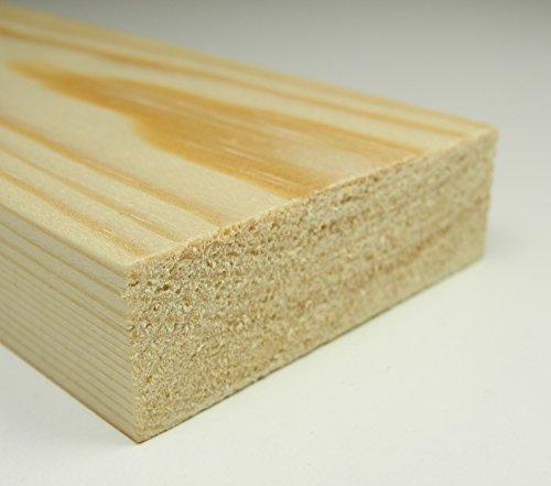 Amco Holzleiste Rechteckleiste Kiefer 5x30x1000 mm Massivholz unbehandelt