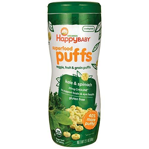 Organics, Superfood Puffs, Veggie, Fruit Grain - Nourrissez Inc. (Happy Baby)