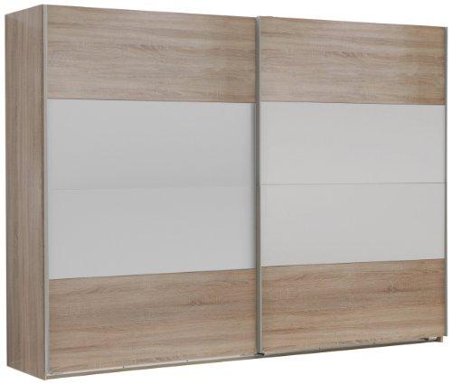 Wimex Kleiderschrank/ Schwebetürenschrank Franziska, (B/H/T) 180 x 208 x 58 cm, Mehrfarbig