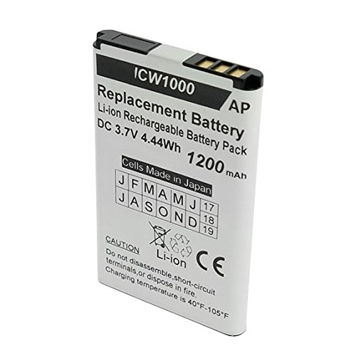 Artisan Power UniData ICW-1000G and WPU-7800 Phones Replacement Battery. 1200 mAh