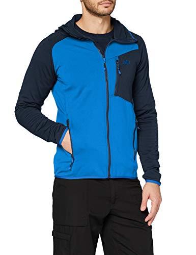MILLET Seneca Tecno II Hoodie M Fleece Jacket, H Orion Blue/Abyss, L Mens