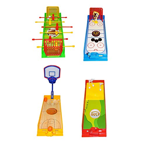 Lg-Imports Mini Reisespiel Sport Ball Spiel Hockey Basketball Golf Fussball Fingerspiel Kinder Basketball