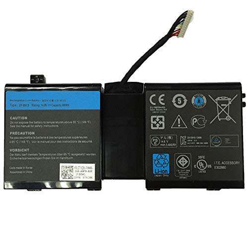 szhyon 14.8V 86Wh 2F8K3 0KJ2PX G33TT 02F8K3 KJ2PX Batería para laptop compatible...
