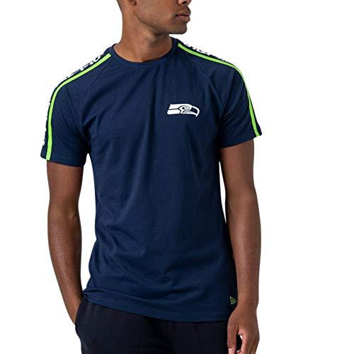 A NEW ERA Era NFL Raglan Shoulder Print Seattle Seahawks Camiseta osb