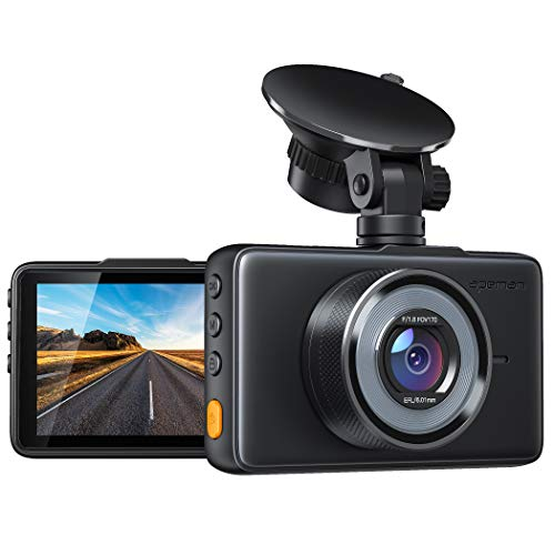 APEMAN Dash Cam 1080P DVR Car Driving Recorder with 3 Inch LCD, Dashboard Camera with Super Night Vision, 170° Wide Angle, G-sensor, Parking Monitoring, Loop Recording Motion Detection, WDR
