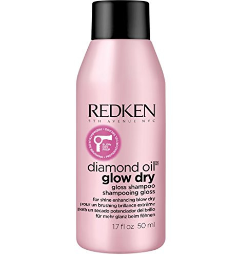 Redken Diamond Oil Glow Dry Gloss Shampoo 50ml