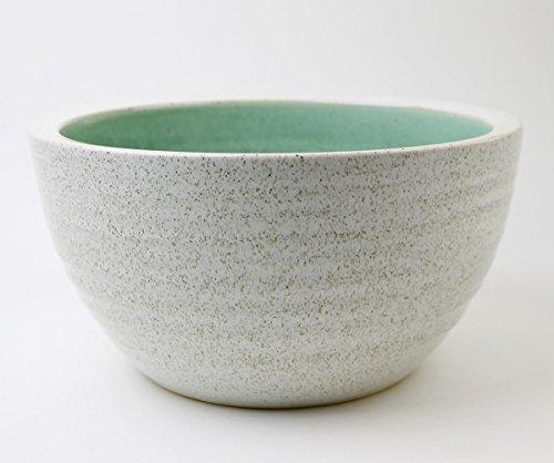 マルイチ奥田陶器『信楽焼10号白カスミすいれん鉢』