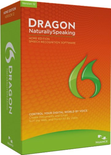 Price comparison product image Dragon NaturallySpeaking Home 12.0,  English (Old Version)