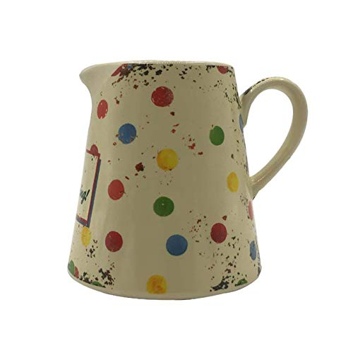 Jarritas para leche/Salsa jarra Café Creamer, Lanzador, cerámica salsa salsa for barcos, de estilo Inglés de cerámica jarra de leche estilo pastoral Jarra de leche acentuadas taza de la leche Salsera
