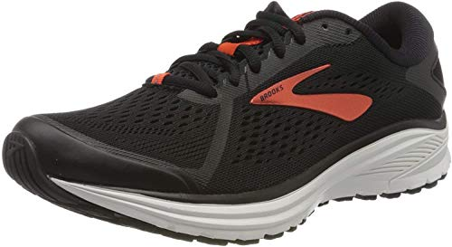 Brooks Aduro 6, Scarpa da Corsa Uomo, Black Cherry White, 41 EU