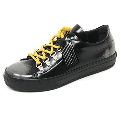 Tod's B9100 Sneaker Donna Scarpa sfumata Nero/Grigio Shoe Woman [38.5]