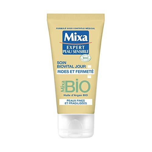 Mixa BIO - Soin Biovital Jour Rides et Fermeté - Peau Sensible - 50 ml