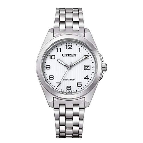 Citizen Eco-Drive EO1210-83A - Reloj de pulsera para mujer (acero inoxidable)