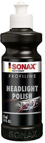 SONAX PROFILINE HeadlightPolish (250 ml) spezielle Schleifpaste zur Auffrischung von vergilbten und vermatteten Scheinwerfern aus Kunststoff | Art-Nr. 02761410