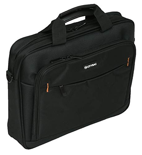 City Bag 15.6 Inch Laptop and Tablet Case - Business Briefcase - 1680D