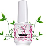 USHION Top Coat and Gel Nail Polish Soak Off UV LED Gel-Nagellack Keine Reinigende(15ml)