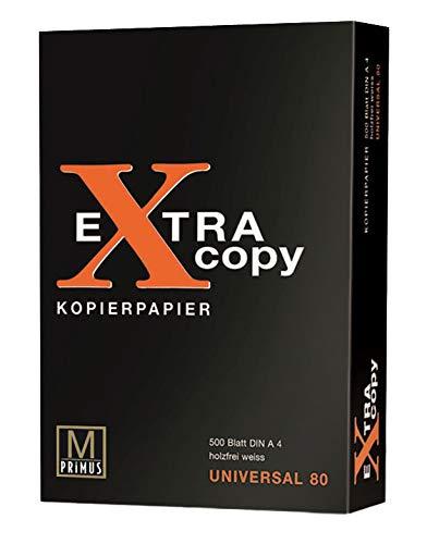 Primus 48792 - Kopierpapier Extra Copy A4, weiß, 500 Blatt, 80 g/m²