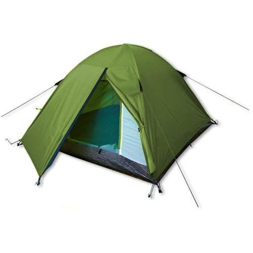 outdoorer Festivalzelt Festival Camp - als 2-3 Personen-Zelt wasserdicht und doppelwandig, ideales Campingzelt