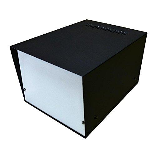 Caja de escritorio para proyectos electrónicos (150 x 200 x 120 mm, aluminio de calidad profesional)
